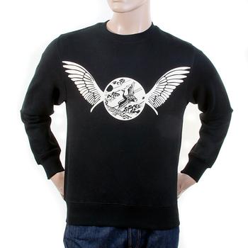 RMC Martin Ksohoh black Freedom Crane crew neck sweatshirt REDM1030