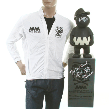 RMC X 4A white trooper jacket with presentation model toy RMC1463