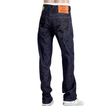 Yoropiko jeans Martin Yatming Santastic black Sakura super exclusive denim jean YORO9083