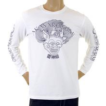 RMC Jeans Raijin white T-shirt REDM5408