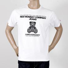 RMC Martin Ksohoh 1760-110-109 8th Anniversary teddy bear T-shirt REDM2786