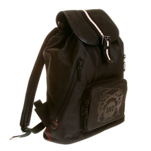 RMC Martin Ksohoh black nylon backpack REDM5532
