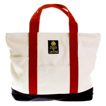 RMC Martin Ksohoh MKWS white/red canvas shopper bag 36899751 REDM5589