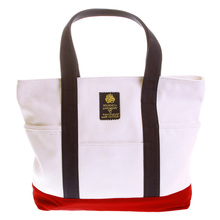 RMC Martin Ksohoh MKWS Bag white and navy canvas shopper bag 37545171 REDM5588