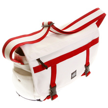 RMC Martin Ksohoh Bag MKWS large white and red shoulder bag ADXJ-2659-L327-1 REDM5578