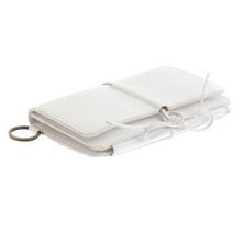 RMC Martin Ksohoh Wallet MKWS 3 fold white Italian leather wallet 256438 AA61N 1091 REDM5719