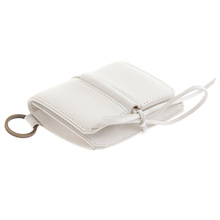 RMC Martin Ksohoh Wallet MKWS white Italian leather credit business card and ID pouch REDM5730