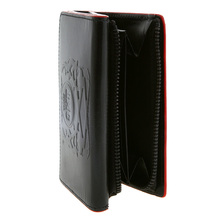 RMC Martin Ksohoh bill fold coin pouch black leather wallet 04848R A495R 1060 REDM5522