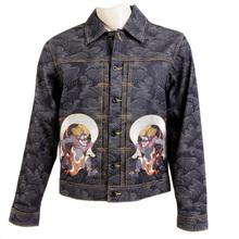 RMC Martin Ksohoh t-shirt Fujiu & Raijin denim jacket REDM3856