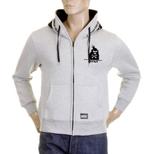 RMC Sweatshirt MKWS monkey marl grey hooded top REDM2343