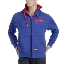 RMC Martin Ksohoh hooded top MKWS royal blue laurel leaf hoody REDM2320