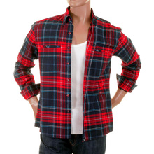 RMC Martin Ksohoh MKWS red check shirt 50197175 REDM2296