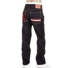 RMC Martin Ksohoh jeans red MKWS Skull slimmer cut 1001 denim jean REDM1155