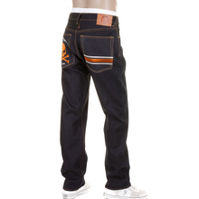 RMC Martin Ksohoh jeans burnt orange MKWS Skull slimmer cut 1001 denim jean REDM1153