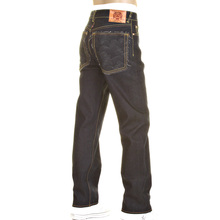 RMC Martin Ksohoh jean Charcoal Logo and Tsunami wave 1001 slimmer cut model denim jean REDM0238