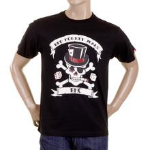 RMC Martin Ksohoh black smoking skull T-shirt REDM2092