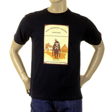 RMC Martin Ksohoh black camel cigarette packet T-shirt REDM1163
