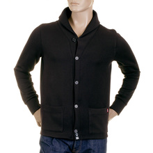 RMC Martin Ksohoh MKWS Shawl Collared Regular Fit Button up Mens Heavy Gauge Jacket in Black REDM2349