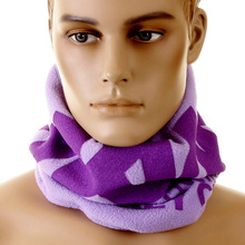 RMC Martin Ksohoh MKWS Reversible Fleece Neck Warmer Snood in Light Purple Lilac REDM5509A