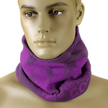 RMC Martin Ksohoh MKWS Reversible Fleece Neck Warmer Snood in Purple REDM5497A