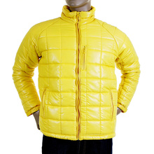 RMC Martin Ksohoh Nylon Zip Up Down Filled Regular Fit RQJ1088 Mens Quilted Jacket in Yellow REDM5839