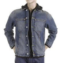RMC Martin Ksohoh hooded denim jacket REDM2819