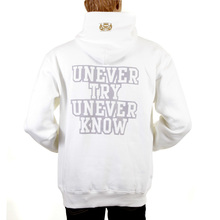RMC Martin Ksohoh white Untunk over head hooded sweatshirt REDM0894