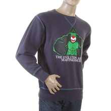 RMC Martin Ksohoh navy King Kong RMC Evolution crew neck sweatshirt REDM0919