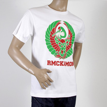 RMC Martin Ksohoh white Japanese Kamon T-shirt REDM0957