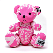 RMC Martin Ksohoh MKWS Limited Edition fuchsia pink bandana teddy bear RMC1238