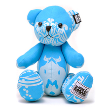 RMC Martin Ksohoh MKWS Limited Edition sky blue bandana teddy bear RMC1236