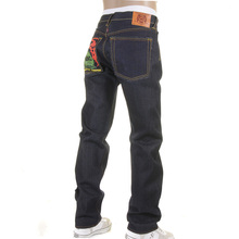 RMC Martin Ksohoh jeans Tsunami Wave and Painted Logo jeans REDM1309