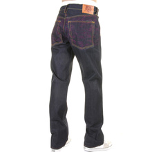 RMC Martin Ksohoh jeans full back purple Tsunami wave REDM1773