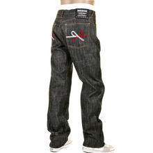 RMC Martin Ksohoh RMC MKWS 9th Anniversary Mizuhiki black denim jeans REDM1205