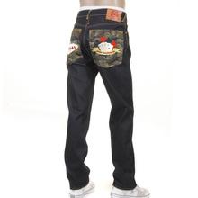 RMC Jeans Las Vegas 1001 Model Slimmer Cut Dark Indigo RMC Winner Unwashed Raw Denim Jeans with Super Exclusive Design RMC1218