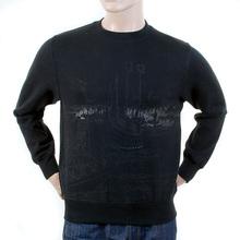 RMC Martin Ksohoh Regular Fit Black RWH141162 Toyo Story Bridge Crew Neck Sweatshirt for Men REDM1067