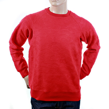 RMC Martin Ksohoh red tsunami wave crew neck sweatshirt REDM1054