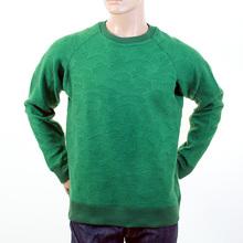 RMC Martin Ksohoh emerald green tsunami wave crew neck sweatshirt REDM1058