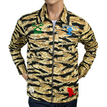 RMC MKWS mens sand camo zipped jacket REDM4134