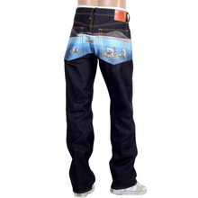 RMC mens Toyo Story The Sea selvedge denim jeans REDM9079