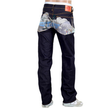 RMC mens embroidered jeans Tokaido Village REDM9080