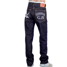 Underground GB Mens embroidered RMC denim jeans RMC2989