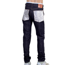 RMC slim fit mens denim jeans silver bushi RMC2772