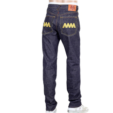 RMC 4A mens embroidered gold 4A back pockets denim jeans RMC1919
