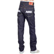 RMC 4A mens raw denim jeans white 4A back pockets RMC1922