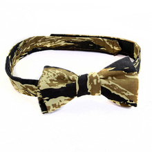 RMC Jeans Vintage Camo Cotton Bow Tie for Men with Tiger Camo Print RMC1944