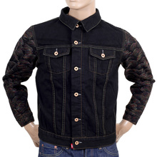 RMC Jeans mens Japanese selvedge denim jacket REDM5067