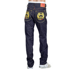 RMC 4A mens gold 4A band Japanese denim jeans RMC1929