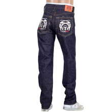 RMC 4A mens selvedge denim jeans silver 4A band embroidery RMC1930