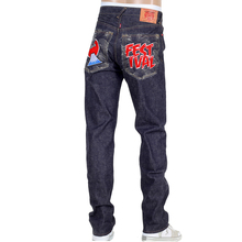 RMC mens selvedge denim jeans Fuji Rock Festival RMC4144